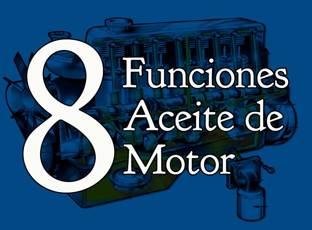 Funciones de aceite de motor