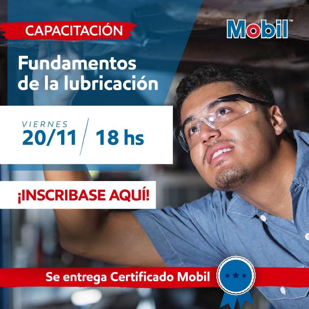 Capacitación Online Mobil Lubricantes Bolivia